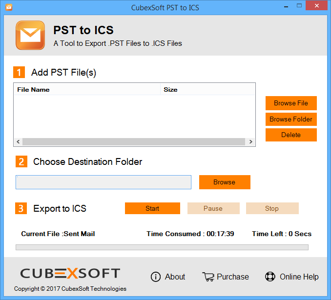 Export Calendar from Outlook to ICS